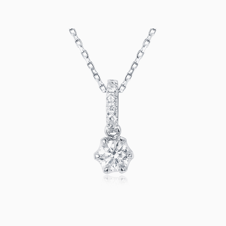 25 Points Diamond Pendant