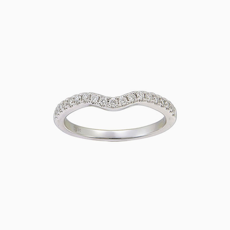Fitted Ladies wedding ring 2423