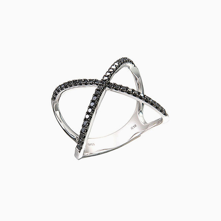 Black diamond X Ring
