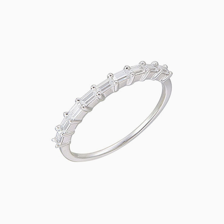 Baguette Diamond Wedding ring 3237