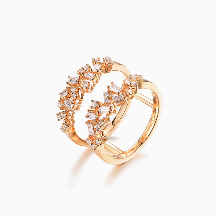 Multi Shape Multi Band Ring